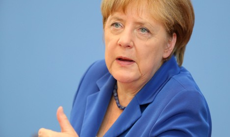 Merkel steps up criticism of 'anti-Muslim' US travel ban