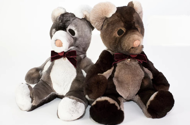 Teddy bears with real animal fur cause outrage in France