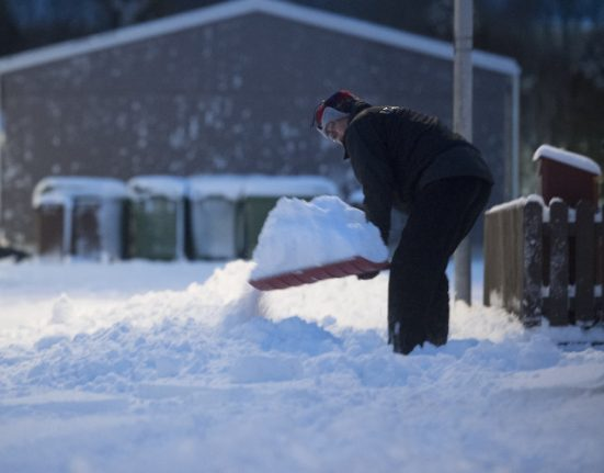 Big freeze is back! Sweden on heavy snow alert
