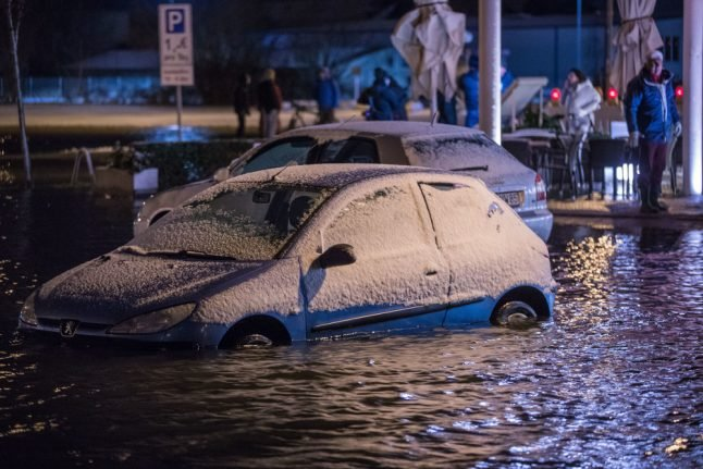 Storm Axel brings worst Baltic Sea flooding in decade