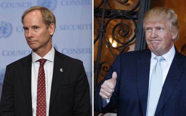 Sweden hits back at Trump over UN criticism