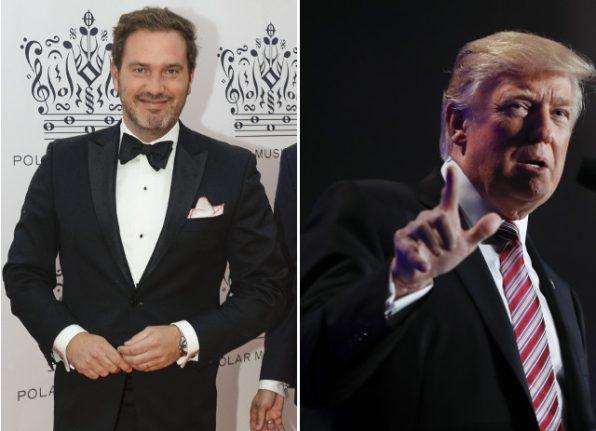 Swedish royal husband slams 'shameful' Trump