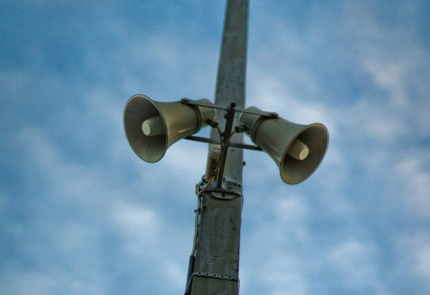 Deaf protest over Switzerland's early-warning siren system