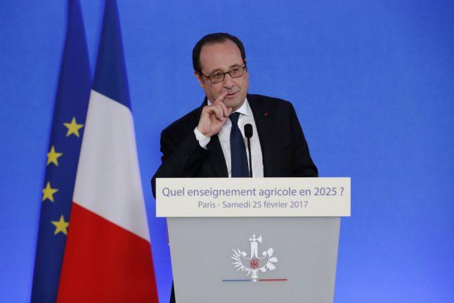Hollande hits back at Trump over Paris criticism