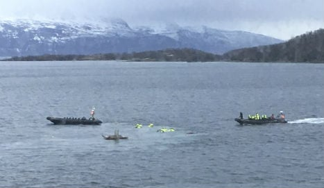 Ten tourists injured in Norway island boat crash