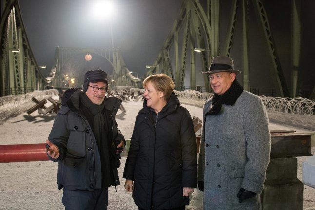 Here's what connects Merkel with Hollywood's biggest stars