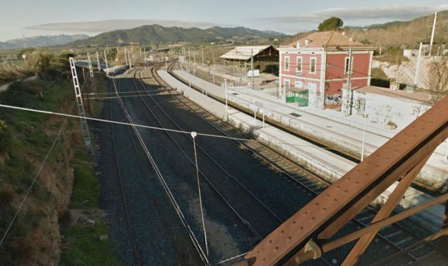 Teenager electrocuted in prank at train station in Catalonia