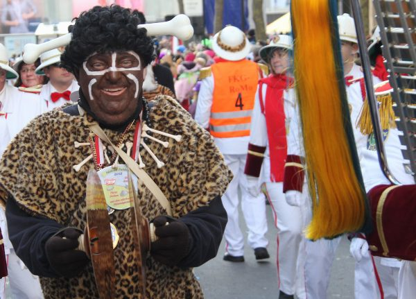 Carnival troop who 'black up' get police escort after racism row