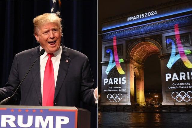 French language fanatics to sue over 'Trump-like' English Olympics slogan