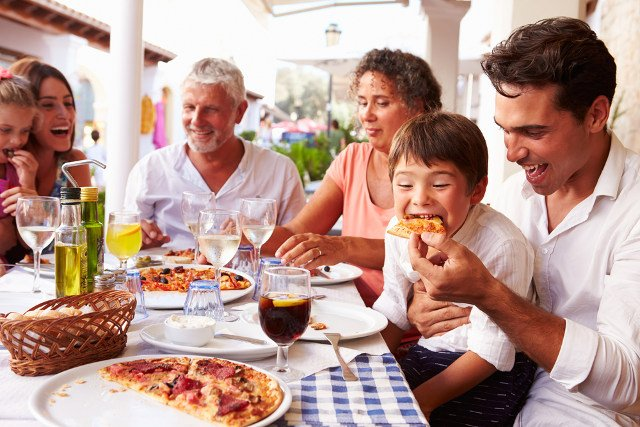Why this Italian restaurant gives parents a discount for polite children
