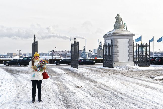 Denmark faces week of sub-zero temps but it will feel even colder than it is