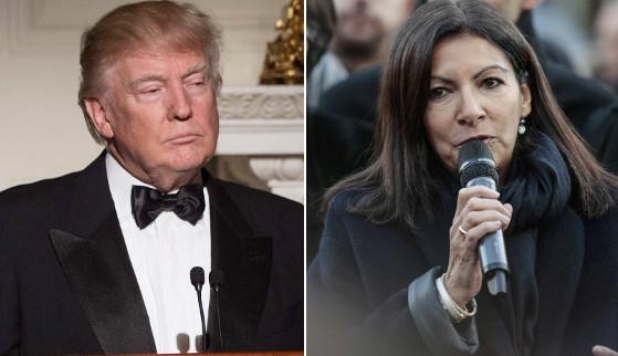 Paris vs Trump: Mayor hits back at 'unfriendly' US president