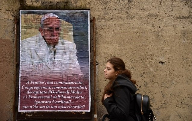 Rome's police are on the hunt for unknown anti-pope plotters