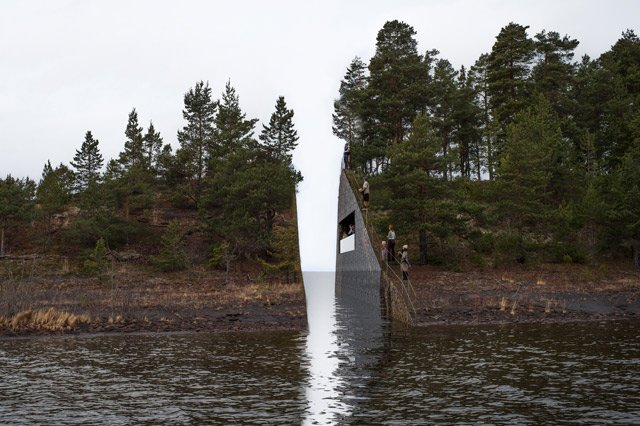 New location proposed for contentious Utøya memorial