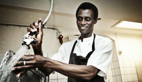 Dishwasher made partner at famous Danish restaurant
