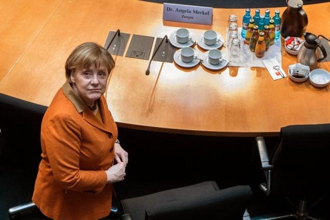 Merkel tells NSA committee she didn't know Germany spied on allies