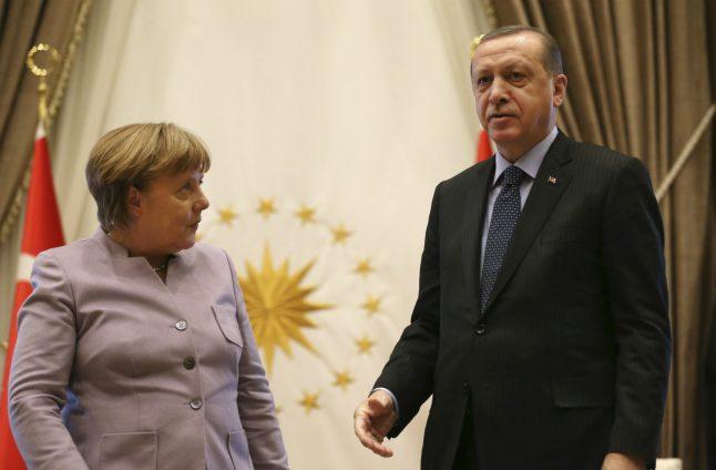 Erdogan tells off Merkel for using phrase 'Islamist terrorism'