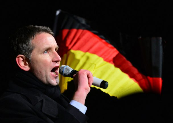 AfD mulls booting leader who said Germany should put WWII in past
