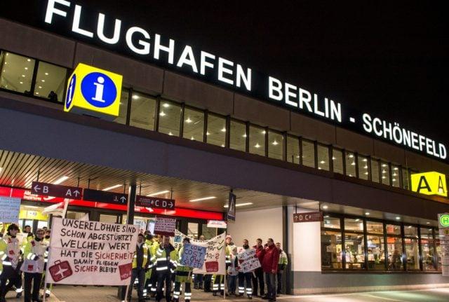 More than 100 flights scrapped in Berlin, Hamburg, Stuttgart airport strikes