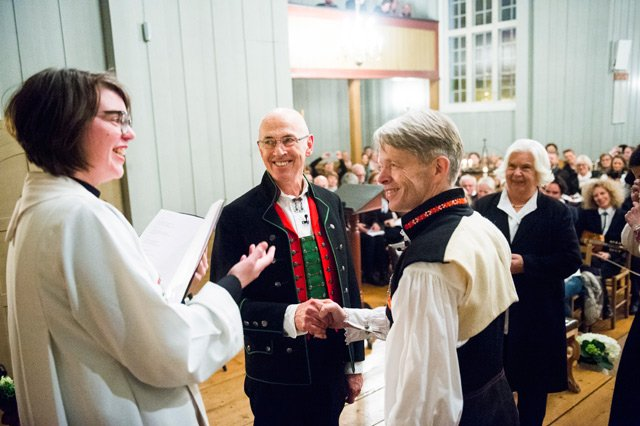 History is made: First same-sex church wedding performed in Norway