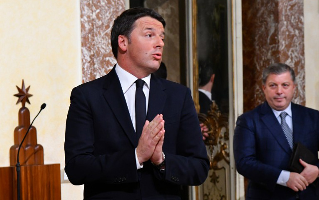 Former Italian PM Renzi launches comeback bid