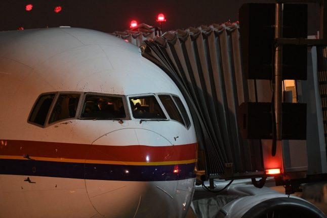 Afghan deportation flight left from Germany half empty