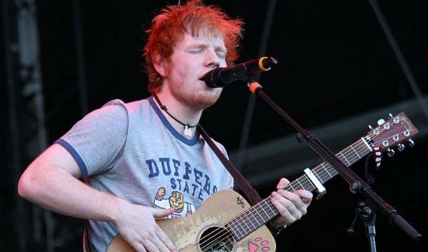 Ed Sheeran celebrates birthday with Austrian Schnitzel and beer