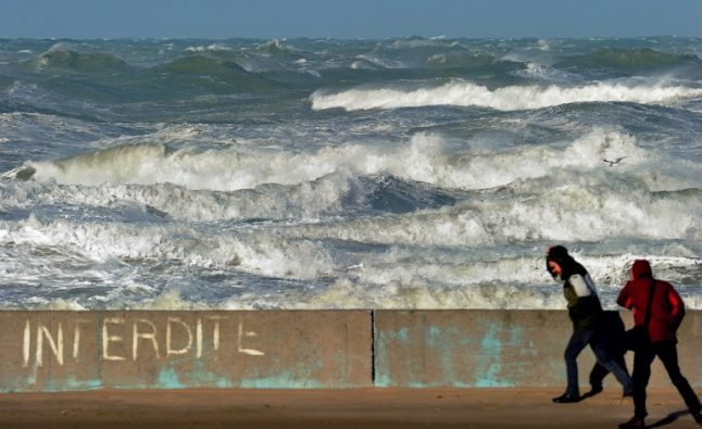 Channel ferry services hit as fierce winds lash France's northern coast