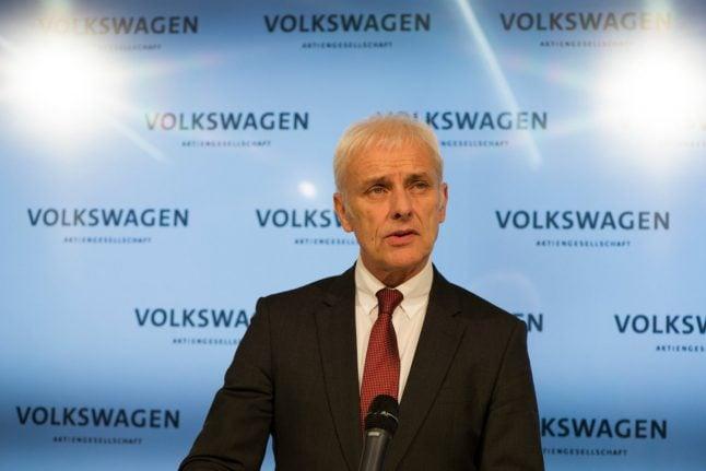 Shaking off dieselgate, VW races back into profit