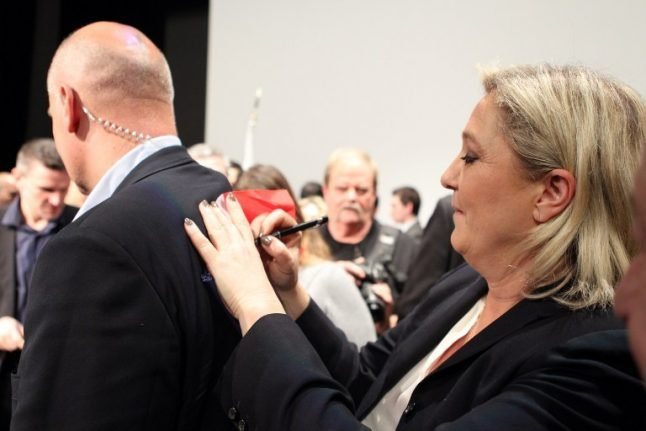 'It's a lie!' Le Pen says she never admitted to giving fake job to bodyguard