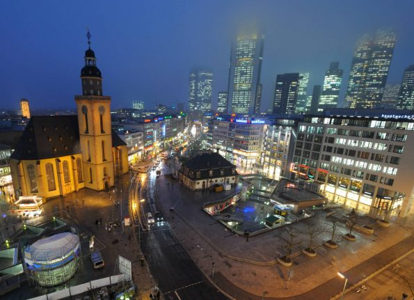 Mass sexual assaults by refugees in Frankfurt 'completely made up'