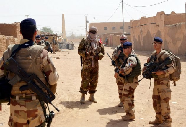 France sends backup to Niger after 16 troops killed