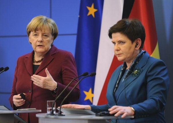 Merkel calls for EU to maintain good relations with Washington