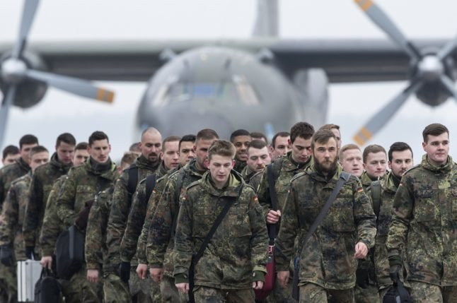 Hundreds more German troops arrive in Lithuania amid Russia fears