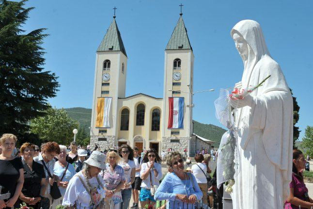 Pope names envoy to Bosnian 'miracle' town