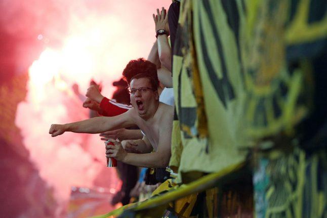 Dortmund to shut stand following hooligan attacks on families