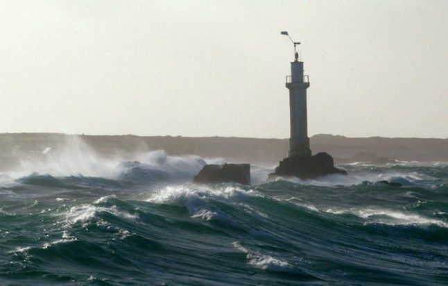 Brittany and Normandy on alert as violent storms roll in