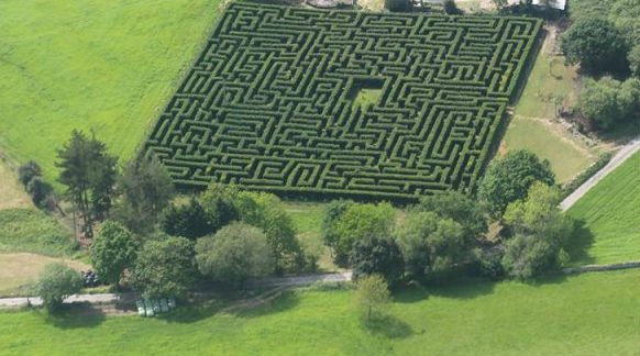 Spain's largest maze is about to open. And it's the perfect place to lose your mother-in-law