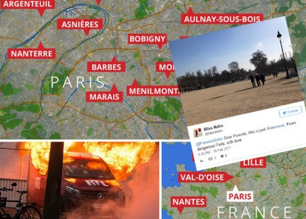 French mock UK tabloids and US far right's 'Paris no-go zones' but it's no laughing matter