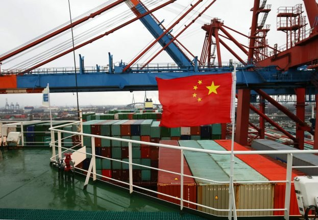China overtakes US as Germany's main trade partner