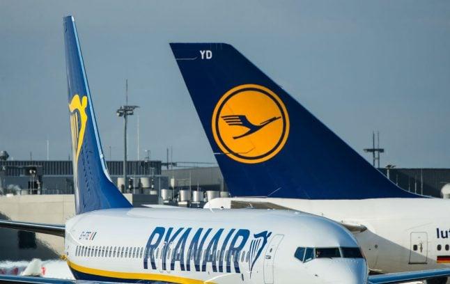 Ryanair builds up Frankfurt flights in challenge to Lufthansa