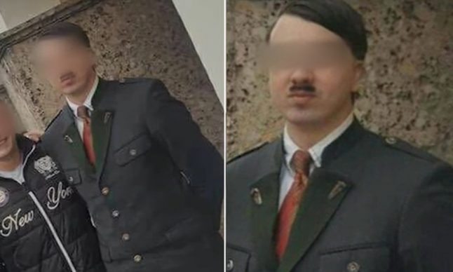 Hitler doppelgänger spotted in Nazi dictator's birthplace