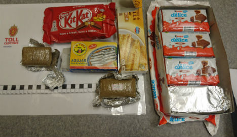 Norwegian customs get a Kinder surprise