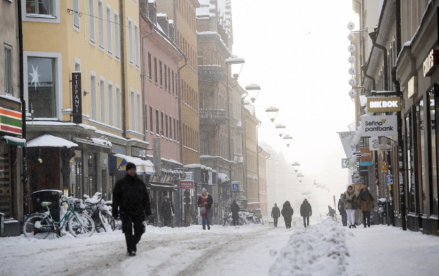 Brace yourselves: It's going to get very cold again in Sweden