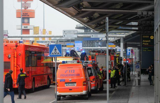 Pepper spray 'prank' leads to evacuation at Hamburg airport