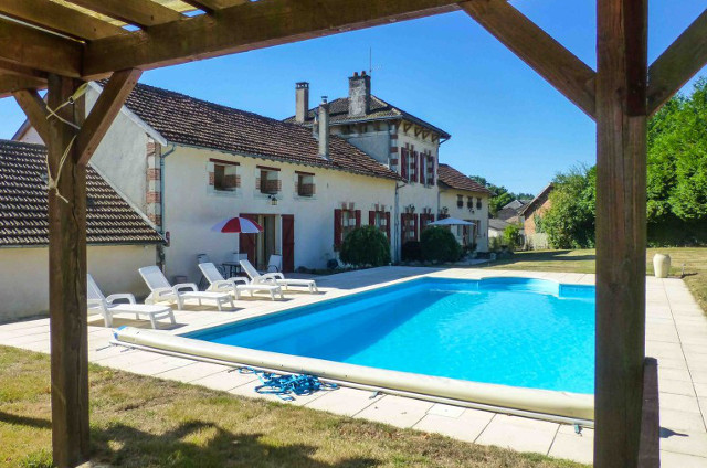 French Property of the Week – Converted school house with a pool in Limousin