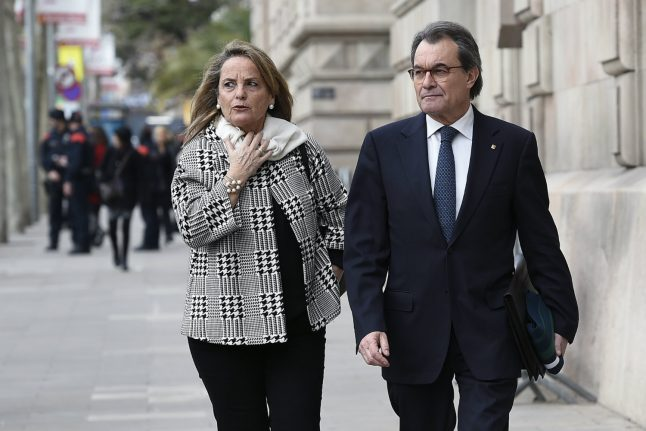 Ex-Catalan chief's trial over independence vote ends