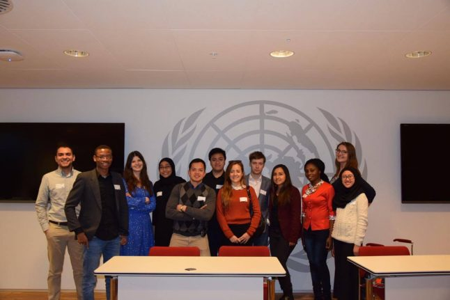 Visiting the UN City in Copenhagen: two NFGL perspectives