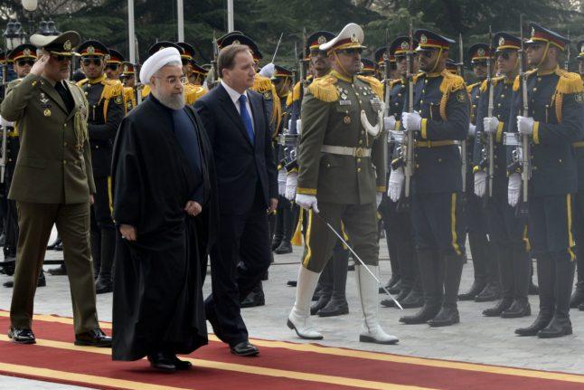 Löfven brings up human rights on Iran visit