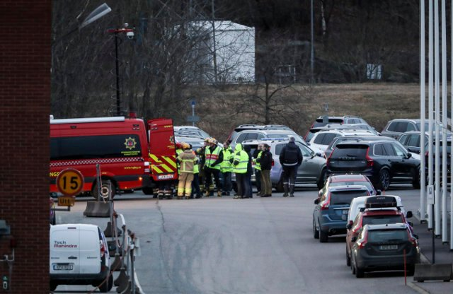 'Violent' fire hits world's largest Volvo Cars industrial site